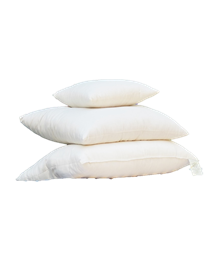 White Lotus Wool Pillows